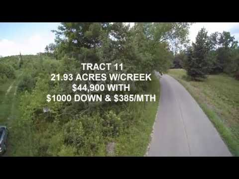 22.ACRES- OWNER FINANCE - $1000 DN & $385/MTH - HOLLADAY, TN REAL ESTATE FOR SALE