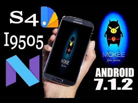ROM MOKEE PARA O S4 I9505 (( JFLTEXX )) ANDROID 7 1 2 06/06/2017  [Substratum]