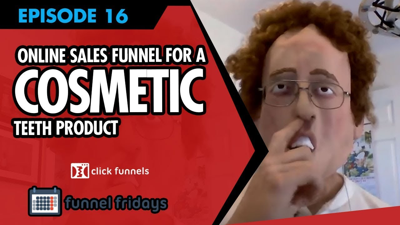 Watch Us Create An Online Sales Funnel For A Cosmetic Teeth Product In 30 Minutes
