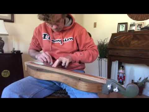 Sound testing a newly built Mountain Dulcimer (#82)