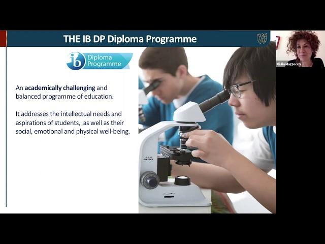 Webinar WINS IB DP and Scholarships