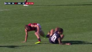 Michael Walters steals the footy