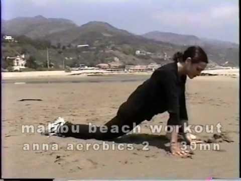 malibu beach workout-30mn anna aerobics 2 at malibu beach