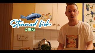 M dot R - Cook & Vibe - Steam fish & Okra (Episode 1) thumbnail