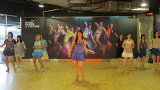 Cinderella  -  Line Dance -  August 2016