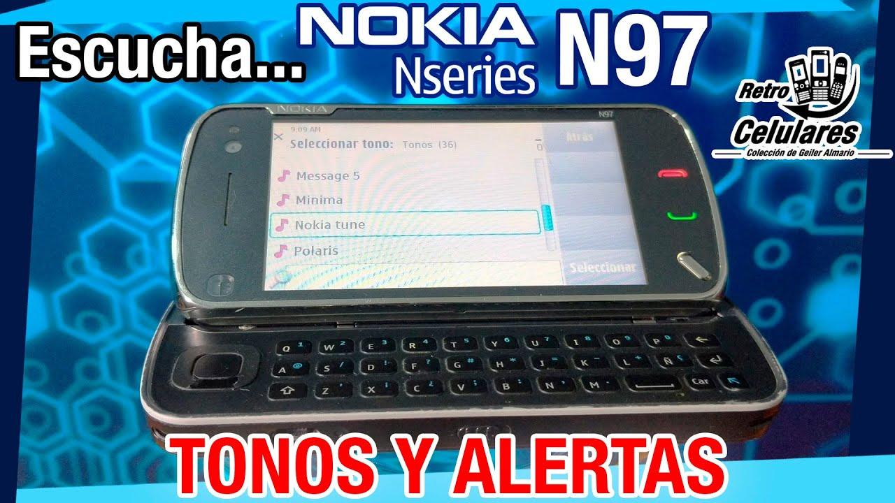 🎶 Escucha los Tonos y alertas del NOKIA N97 / Retro Celulares 4k