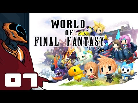 Let's Play World of Final Fantasy - PS4 Gameplay Part 7 - I Just Wanna Go Shopping!