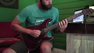 "Protest the Hero ""Soliloquy"" GUITAR COVER"