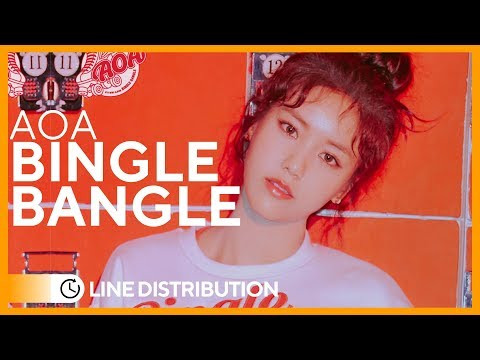 AOA「Bingle Bangle」• Line Distribution