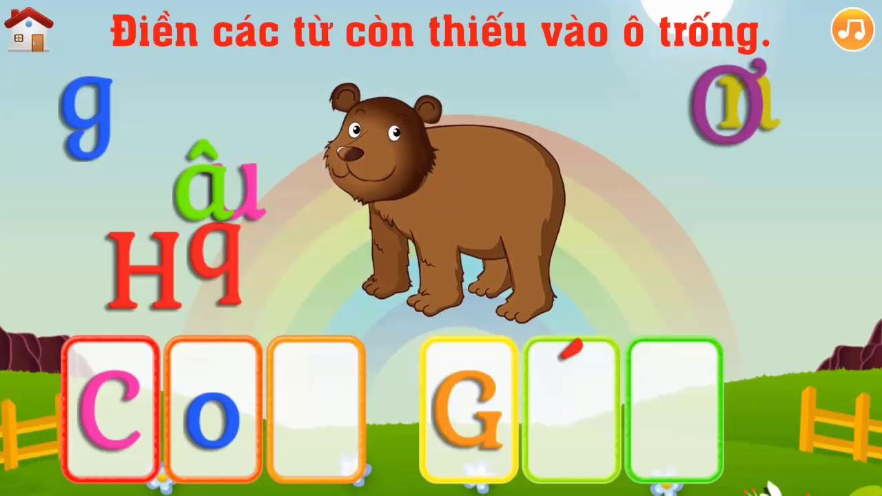 Ghép vần tiếng Việt || Tiếng Việt thật là đơn giản