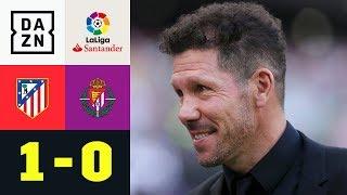 Atleti-Sieg dank Joaquin Fernandez' Eigentor: Atletico Madrid - Real Valladolid 1:0 | LaLiga | DAZN