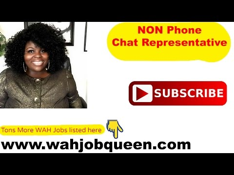 LEGIT Work At Home Online Chat Job HIRING NOW!