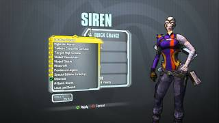 Borderlands 2 -  Siren Supremacy Pack (Ascendant head and Ethereal skin)
