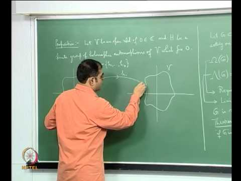 Mod-05 Lec-26 Local Actions at the Region of Discontinuity of a Kleinian Subgroup