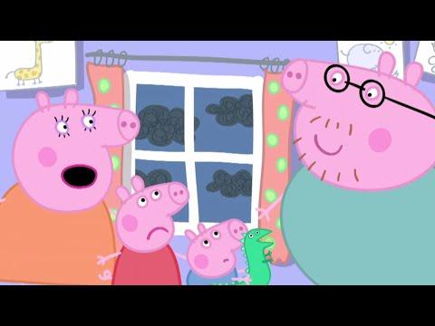 Peppa Pig Français | Peppa Pig L'orage | Dessin Animé