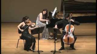Fournier Trio: Mendelssohn Trio No.1 in D minor Op.49 - II. Andante con moto tranquillo