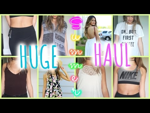 GIANT SUMMER HAUL: Windsor, Urban Outfitters, Topshop, Free People, Brandy And More
