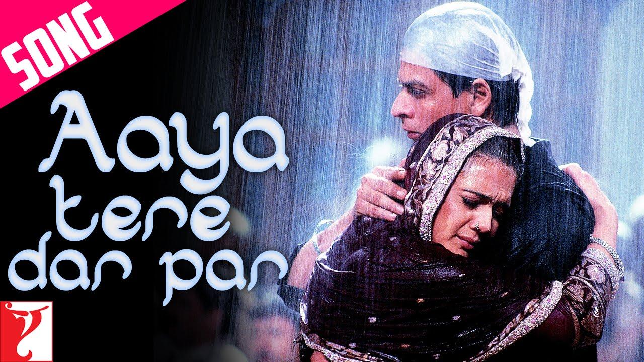 Aaya tere dar par v2 with lyrics veer zaara (2004) shahrukh preity.