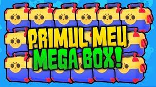 DESCHID PRIMELE MELE MEGA BOX-uri PE BRAWL STARS!