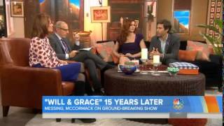 'Will & Grace's' Eric McCormack, Debra Messing still laughing 15 years later