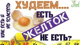 Диеты для похудения: есть или не есть желток?