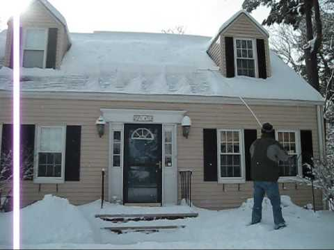Using A Phillilps Snow Cutter On My Home. Kent Phillips