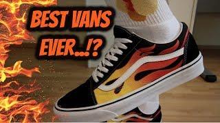 ffc114f5af Unboxing Vans Flames