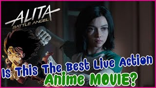 Is This The Best Live Action Anime Movie EVER? Alita Battle Angel Review