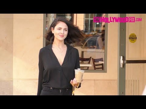 Eiza Gonzalez Smiles For The Camera During A Coffee Run While Out Shopping In Beverly Hills 9.23.19