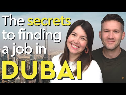 How to find a job in Dubai  [7 Secrets for working in Dubai]
