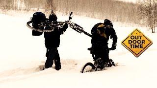 Катаемся на велосипеде зимой(Что больше всего любит велосипедист? - Горки! - А что он больше всего ненавидит? - Горки! (Аксиома, выведенная..., 2014-12-04T00:19:53.000Z)