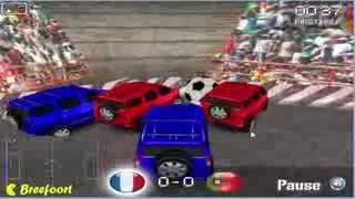 4x4 Cars Soccer Gameplay Video Walkthrough clip1