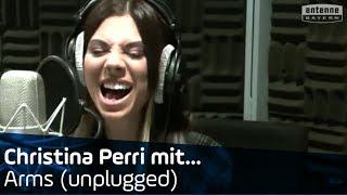 Christina Perri - Arms unplugged im ANTENNE BAYERN Studio