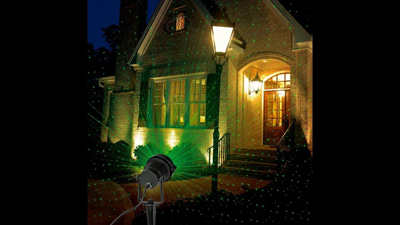 Außenstrahler & Flutlichter Laserstrahler Starlight Von Easymaxx Für Außenbereich Mit Fernbedienung Beleuchtung