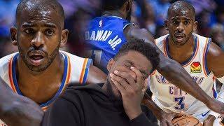 CHRIS PAUL DEBUT! Dallas Mavericks vs Oklahoma City Thunder - Full Highlights