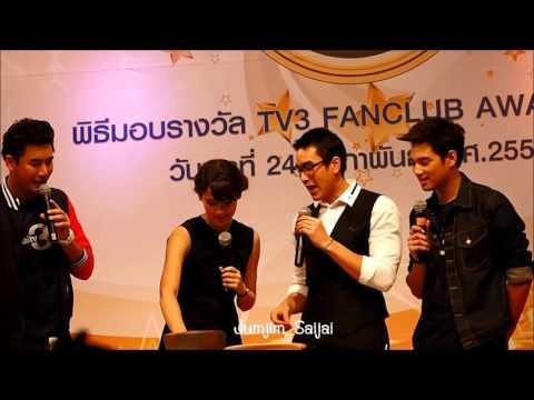 ณเดชน์ ญาญ่า..งาน TV3 Fanclub Award 2015  ช่วง ส้มตำสองเรา