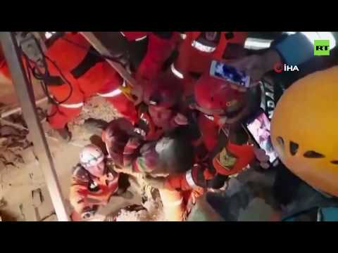 2yo girl rescued from rubble after massive earthquake in Turkey