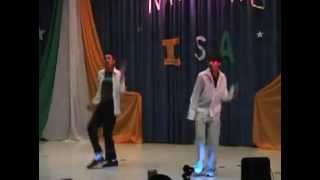 ashok, vinay dance for india nite 06 at SIUC(southern illinois univ carbondale)