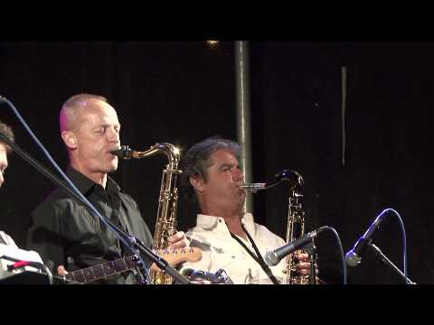 Joe Martin Band - Saxophone jamming