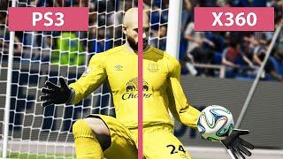 FIFA 15 - PS3 vs. Xbox 360 Last-Gen Graphics Comparison