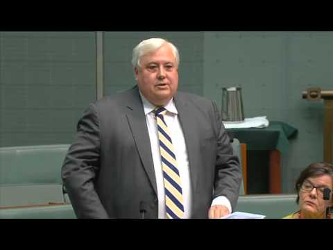 Clive Palmer - Will not contest Fairfax and reflection of achievements speech