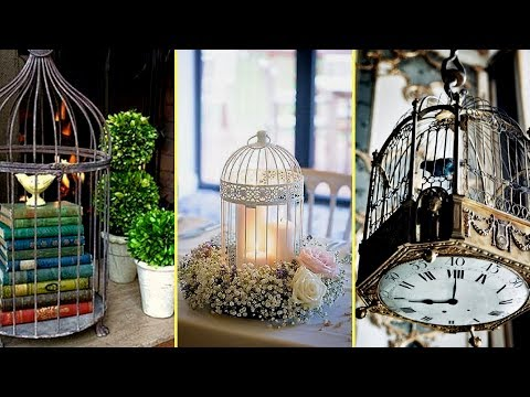 ❤ Vintage & Shabby Chic Birdcage Decoration Ideas- DIY Summer Decoration ❤