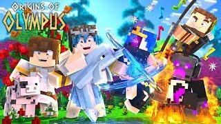 "Minecraft Origins of Olympus - ""THE OASIS!"" #1 (Minecraft Percy Jackson Roleplay)"