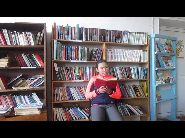 Изображение предпросмотра прочтения – АнгелинаНимаева читает произведение «Что такое хорошо и что такое плохо» В.В.Маяковского