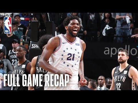76ERS vs NETS | Fantastic Thrilling Ending in Brooklyn | Game 4
