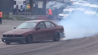 '96 BMW 528i E39 - Bashed Up Drift Menace