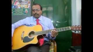 Chalte Chalte guitar instrumental by Rajkumar Joseph.M