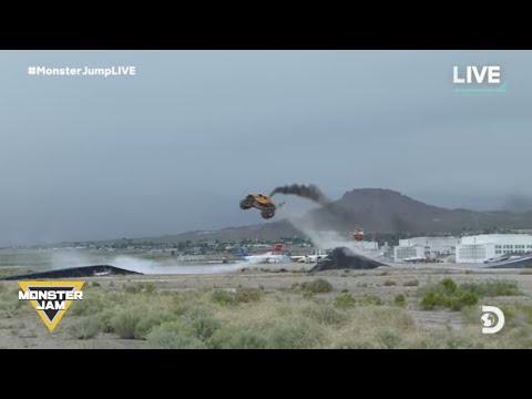 Michael J. - Two Most Incredible Monster Truck Stunts EVER. A Moonwalking Monster Truck
