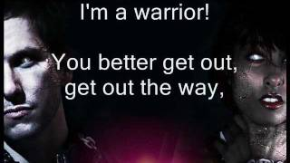 Warrior - J.O.B ft. Anjulie (LYRICS) with MadV & 12th Planet