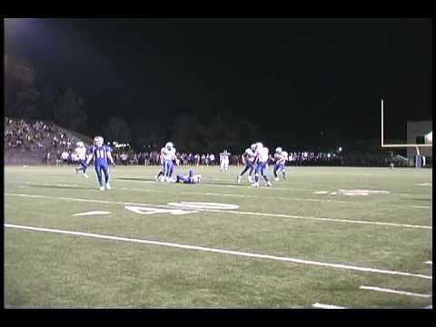Dana Hills Football: Conner Kelly's Big Hit vs. El...